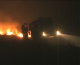 Четыре пожарных расчета ликвидировали пожар в поселке Гаровка-2 Хабаровского муниципального района