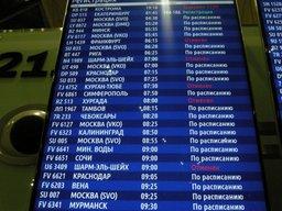 МЧС России информирует о номерах рейсов и доставляемом багаже российских туристов, прибывающих из Египта в Москву