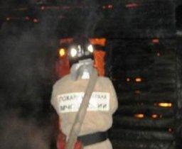 Загорание дачного дома и надворных построек ликвидировали пожарные расчеты в садовом обществе «Спутник»