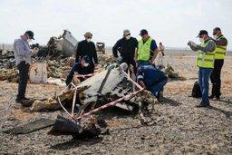 Российские спасатели оказывают содействие специалистам МАК на месте крушения А321 в Египте