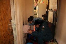 В Хабаровском крае проводятся противопожарные рейды по домам с печным отоплением