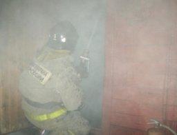 Причиной вызова подразделений пожарной охраны стало загорание в строительном вагончике