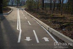 В Хабаровске появились велодорожки