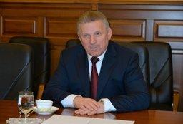 Губернатор Вячеслав Шпорт встретился с начальником ДВЖД Николаем Маклыгиным
