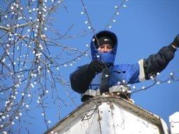 В Хабаровске городской парк отдыха «Динамо» и детский парк имени Гайдара готовятся к новогодним и рождественским праздникам