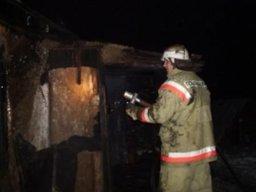 Пожарные принимали участие в тушении дачного дома в садовом обществе «Мозаика»