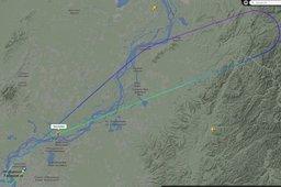 В Хабаровск экстренно возвращается Airbus, вылетевший на Камчатку