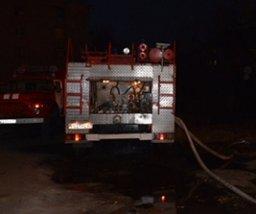 Хабаровские огнеборцы привлекались к тушению хозйственной постройки в поселке Черная речка