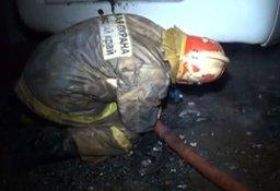 Менее 20 минут потребовалось хабаровским пожарным, чтобы потушить легковой автомобиль