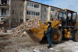 Жители пострадавшего дома поселка Корфовский возвращаются в свои квартиры