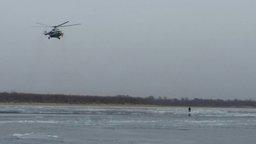 Осенний тонкий лед коварен и опасен!