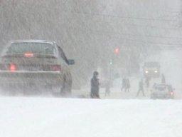 Снег и метель ожидают жителей Хабаровского края в выходные