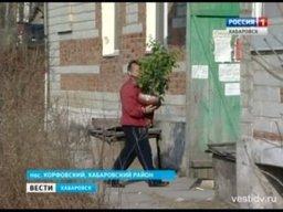 Жители пострадавшего дома в поселке Корфовский возвращаются в свои квартиры