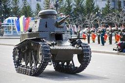 Танк МС-1 в Хабаровске