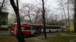 Пожар в жилом доме по улице Карла Маркса в Хабаровске ликвидирован
