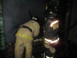 Пожарно-спасательные формирования привлекались к тушению частного дома в поселке Новотроицкое Хабаровского района