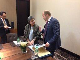Александр Галушка пригласил таиландских инвесторов на Дальний Восток