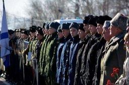 Сергей Луговской обратился со словами напутствия к призывникам