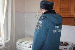 Причиной вызова пожарных на улицу Иртышскую стало сообщение о возможном хлопке газа