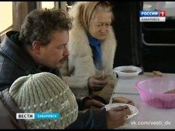 Бездомным Хабаровска не дадут замерзнуть на улице грядущей зимой - на базе общественных организаций открыто пять пунктов обогрева и семь точек бесплатного питания