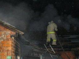 В поселке Мичуринское пожарные ликвидировали загорание в бане