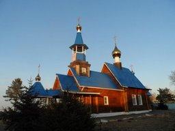 РПЦ Хабаровского края сообщает, что в Нанайском районе свершилось чудо - замироточили три иконы