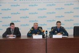 В Хабаровске состоялась пресс-конференция по вопросам безопасности жизнедеятельности