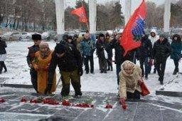 Память погибших в Сирии военнослужащих почтили депутаты и жители краевой столицы