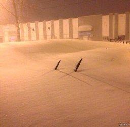 В начале декабря на Хабаровск, как и в прошлый год, может вновь обрушится снежный циклон