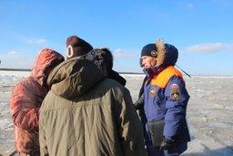 Замерзшие водоемы края небезопасны