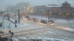 Сильный снег и метель ожидаются в большинстве районов Хабаровского края