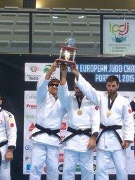 Слабовидящий хабаровский спортсмен Виктор Руденко смог собрать полный комплект медалей на чемпионате Европы по дзюдо