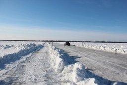 От официальной ледовой переправы через Амур в Хабаровске отказались