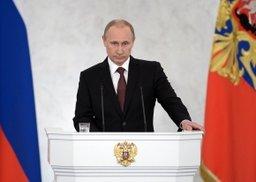 Президент Владимир Путин сегодня выступит с ежегодным Посланием к Федеральному Собранию