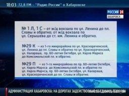 В связи с погодными условиями в Хабаровске закрыты для движения автобусов несколько участков – это спуски и подъемы в Центральном районе