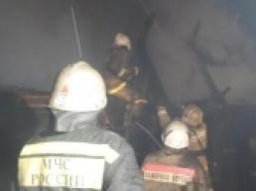 Пожарные ликвидировали загорание частного дома в поселке Федоровка Хабаровского района