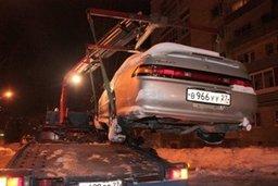 Сегодня ночью на улицах Волочаевской и Дзержинского будут работать эвакуаторы