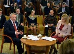 Итоги 2015 года подведет Губернатор Вячеслав Шпорт на встрече с журналистами