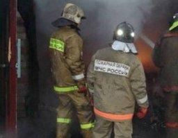 Чуть больше 30 минут потребовалось комсомольским пожарным на ликвидацию загорания в гараже