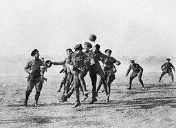 В Хабаровске играли в футбол при любой власти