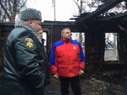 В ближайшее время спасатели завершат все работы на месте сгоревшего психоневрологического интерната в Воронежской области