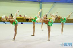 Юные гимнастки на первенстве Хабаровского края