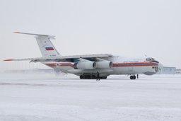 Авиация МЧС России доставила в Ростов-на-Дону гуманитарный груз для Луганской и Донецкой областей