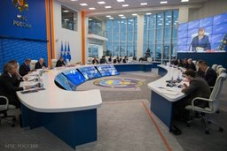 Глава МЧС России Владимир Пучков провел заседание Правительственной комиссии по предупреждению и ликвидации ЧС и обеспечению пожарной безопасности