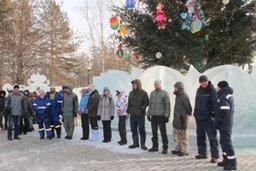 В Хабаровске стартовал традиционный, уже тринадцатый по счету конкурс ледовых скульптур «Амурский хрусталь»
