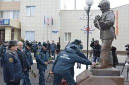 В центре Белгорода открыт памятник пожарным и спасателям
