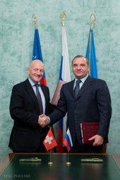 Владимир Пучков провел рабочую встречу с директором Корпуса гуманитарной помощи Швейцарского агентства по развитию