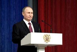 Президент Российской Федерации Владимир Путин поздравил спасателей с 25-летием образования МЧС России