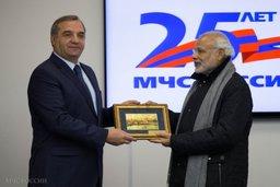 Россия и Индия будут развивать взаимодействие при совместной ликвидации крупномасштабных бедствий