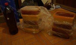 Вместо красной икры жительница Томска получила от дедушки из Хабаровска посылку с салом